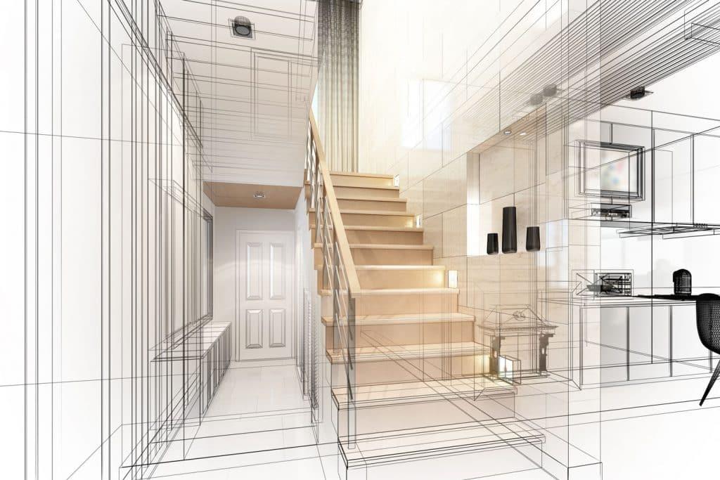 Progettazione interni recoaro terme Vicenza